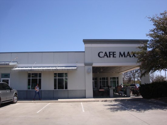 Cafe Max: Outside Entrance