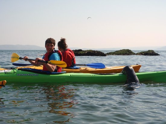 Arete Outdoor Centre Llanrug: DofE sea kayaking expedition around Anglesey