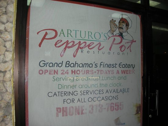 Pepper Pot : Sign