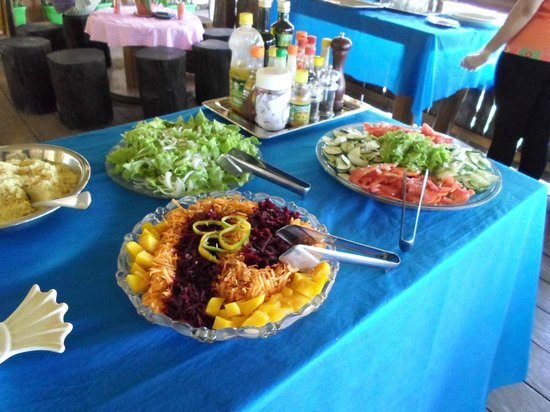 Tariri Amazon Lodge: 2 salads for each meal