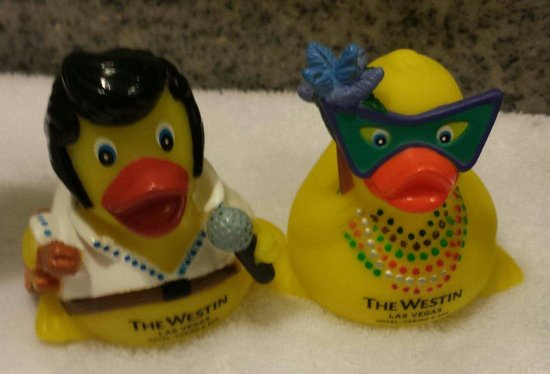 The Westin Las Vegas Hotel, Casino & Spa : Cute Rubber Ducks!