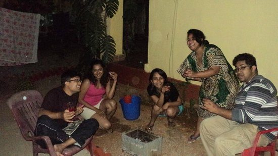 Evershine Guest House: Barbeque Time