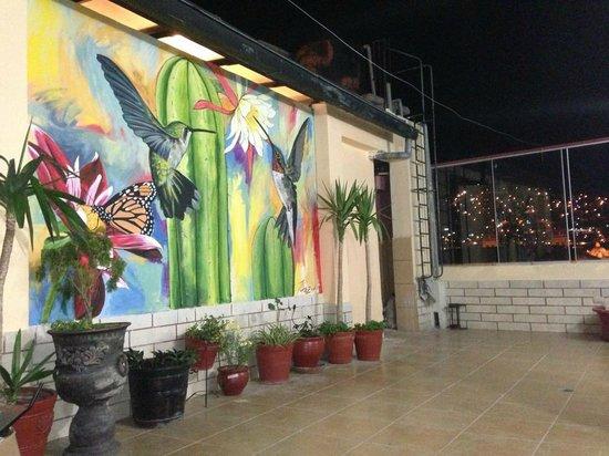 Amerinka Boutique Hotel: disfrute de nuestra terraza