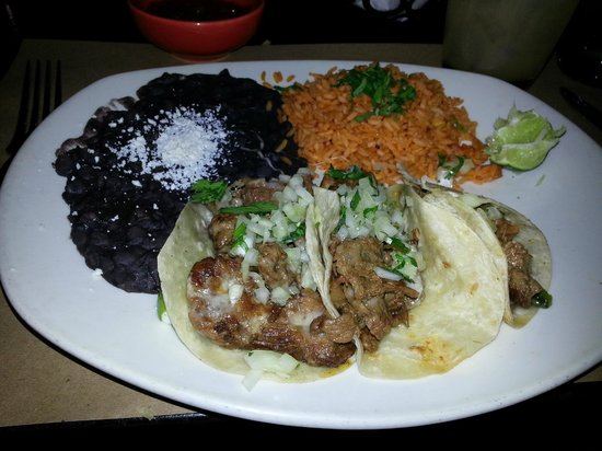 Tacos & Tequila: These are the best tacos.