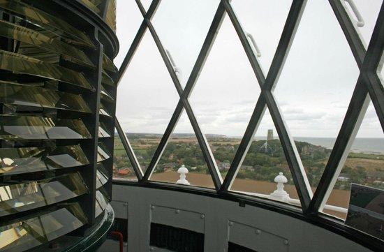 Happisburgh Lighthouse: Lamp room interior