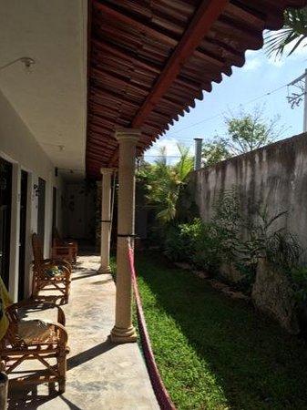 Tulum Naa Studios: patio