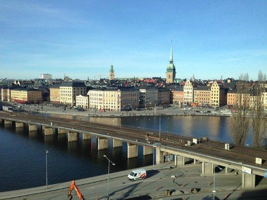 Hilton Stockholm Slussen: View from Executive Lounge