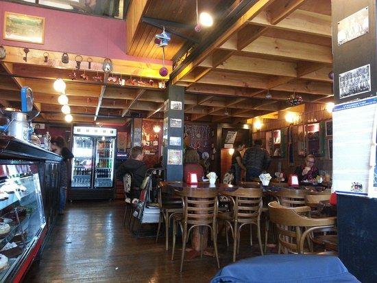 Cafe Tapiz : Salón de planta baja.
