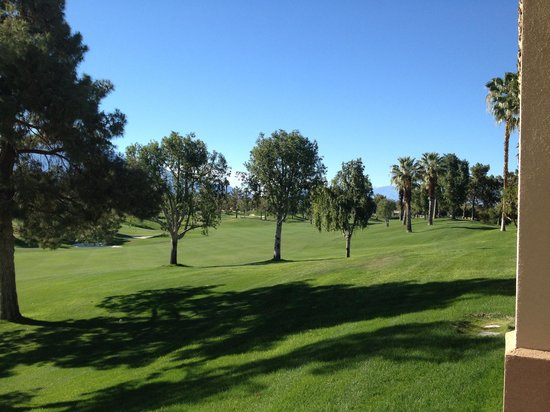 Marriott's Desert Springs Villas II: golf course view