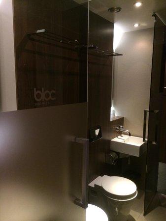 Wet room Picture of Bloc Hotel Birmingham Birmingham TripAdvisor