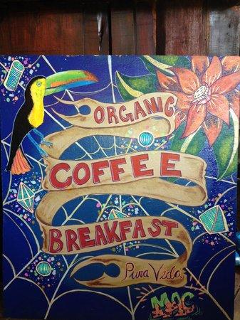 New Moca Cafe Sign - Thanks McKenzie Klein!!!!