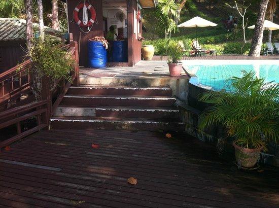 Century Langkawi Beach Resort : vackert poolområde?