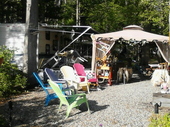 Tidewater Campground: my site :)