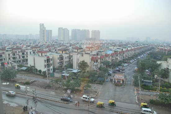 Hilton Garden Inn New Delhi / Saket : Hilton Garden Inn - New Dehli - Vue de la chambre