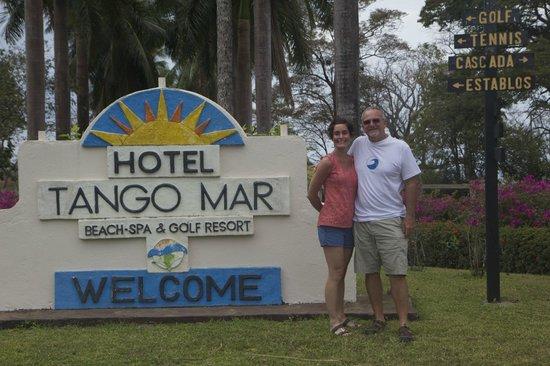 Tango Mar Beachfront Boutique Hotel & Villas : Welcome!