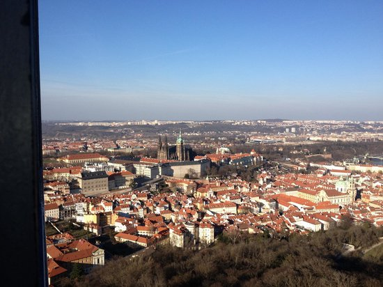 Andel Apartments Prague: View from lookout tower, a short tram ride away.