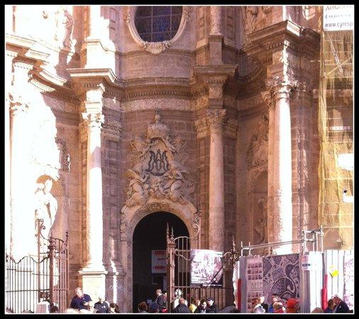 Valencia Cathedral : Puerta de los Hierros. (Portão de Ferros)