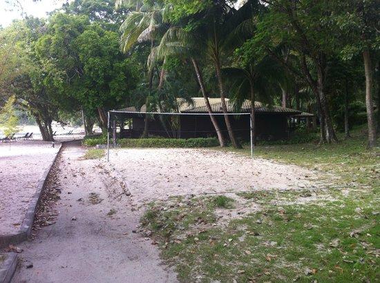 Century Langkawi Beach Resort: Beach(?)volley?