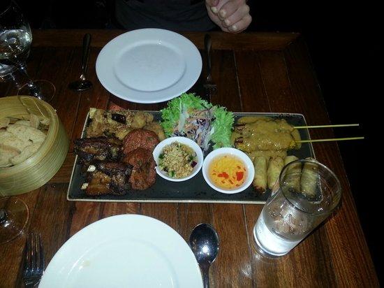 Chilli Banana Thai Restaurant: Banquet starter for 2 people
