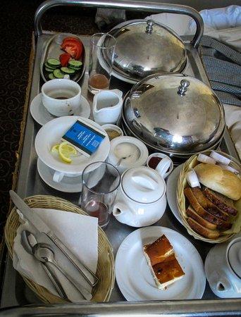 Gromada Hotel: Breakfast
