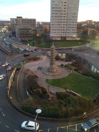 Radisson Blu Hotel, Birmingham: View from 6th floor