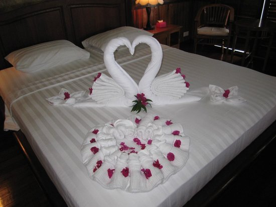 Sipadan Kapalai Dive Resort: honeymoon welcome