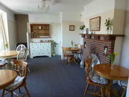 Beech Lodge Bed and Breakfast : Breakfast area