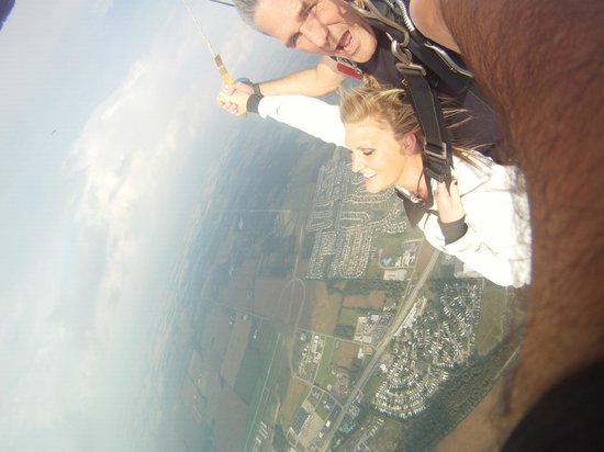 First tandem jump! - Picture of Ohio Skydiving Center