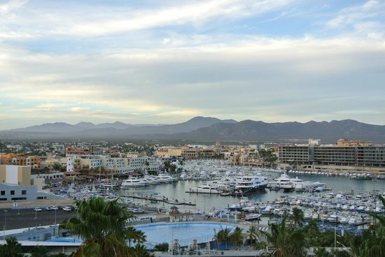 Sandos Finisterra Los Cabos: Bay view of Marina and downtown district