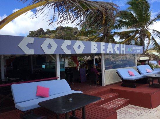 Esmeralda Resort: Coco Beach seen from the Beach