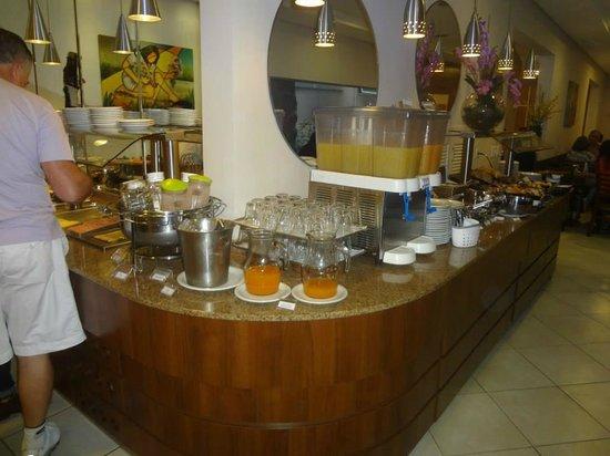Tarobá Hotel: Café da Manhã