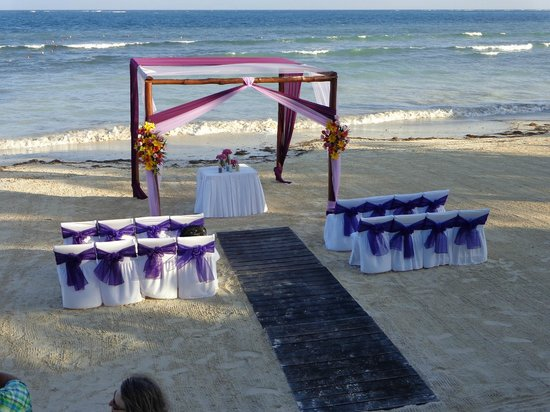 Azul Beach Resort Sensatori Mexico: My son's wedding in 2013
