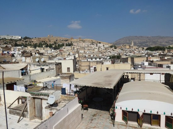 Riad El Bacha : View from the roof