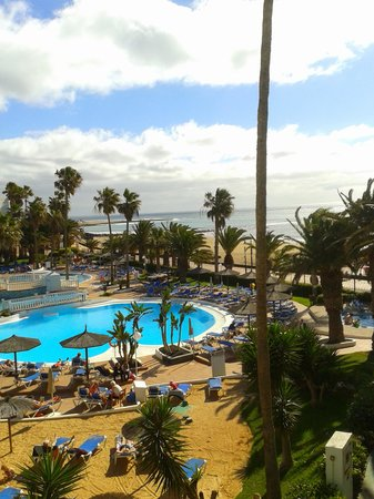 Sol Lanzarote All Inclusive : view from or apartment