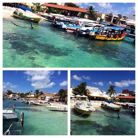Playa Norte: Isla mujeres.