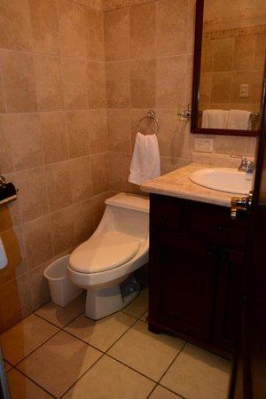 Hotel El Virrey: Baño habitación #4