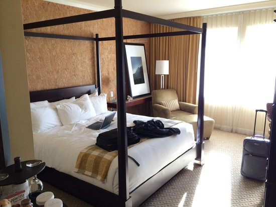 St Julien Hotel and Spa : King Bed