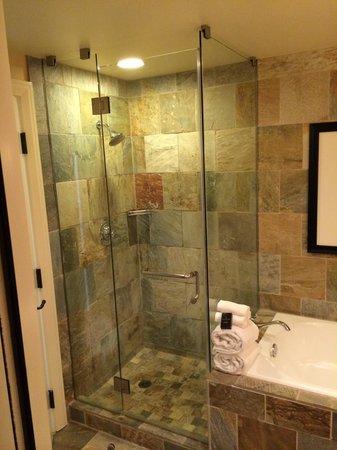 St Julien Hotel and Spa : Shower