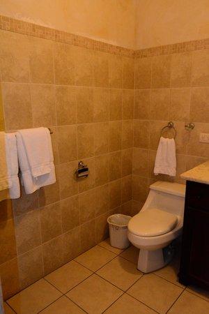 Hotel El Virrey: Baño habitación #5