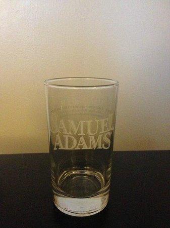 Samuel Adams Brewery : Free mini glass souvenir