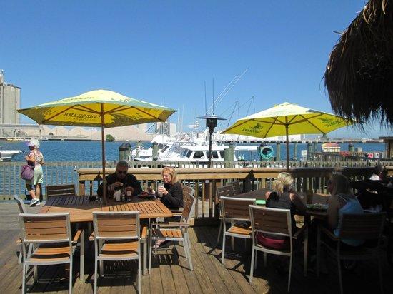 Grills Seafood Deck & Tiki Bar : Grills Outdoor seating