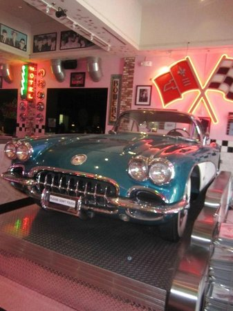 Corvette Diner: The diner's namesake.