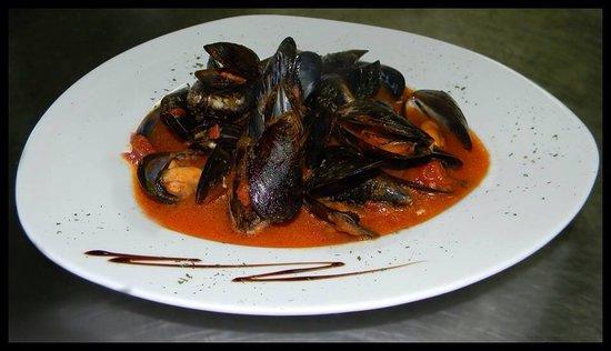 Hunters Tower: Mussels Pepata