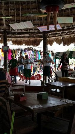 Senor Frogs Costa Maya: Music and Dancing- Perhaps to get you to forget about the outrageous prices