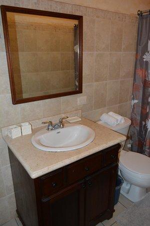 Hotel El Virrey: Baño habitación #6