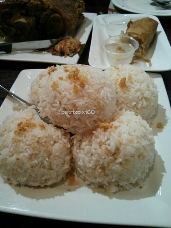 Max's Restaurant: Garlic Rice