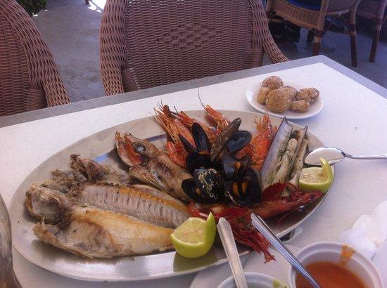Mar Azul: Mix poissons mars 2014
