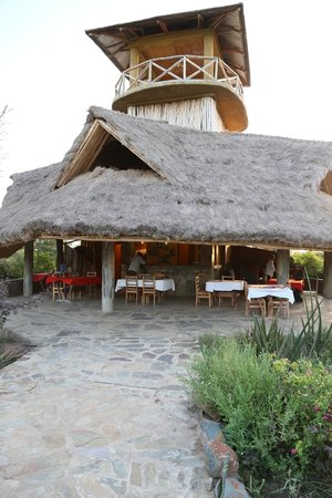 Robanda Safari Camp: restaurant