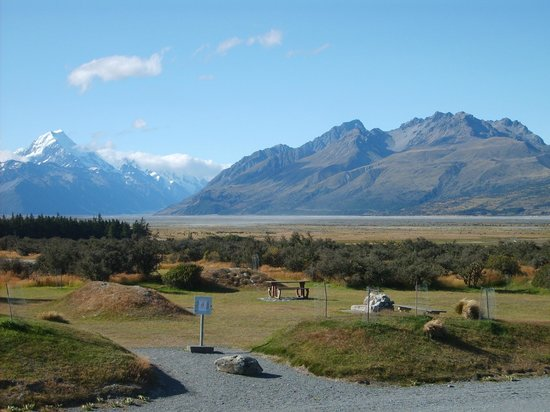 Mount Cook Glentanner Park Centre: View from room