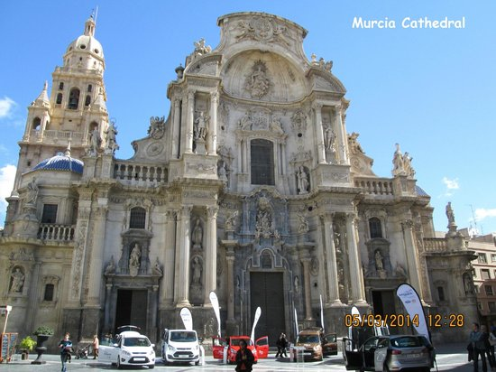 Plaza Cardenal Belluga: The cathedral, Murcia